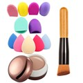 Makeup Contour Face Concealer BB Cream+ Sponge Puff Powder Brush Brush egg Makeup Tools 3 Styles Optional