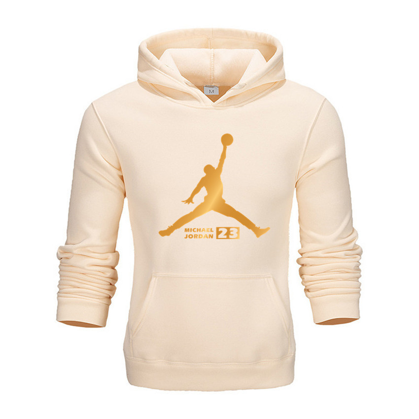 Brand 2019 New Women/Men's Casual 23 Jordan Print Hedging Hooded Fleece Sweatshirt Hoodies Pullover Clothing Size M-3XL