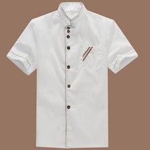 Summer Kitchen Chef Jacket Short Sleeve Hotel Uniform Kitchenware Catering Service Tooling Jacket Workwear Chef Uniform catering business
