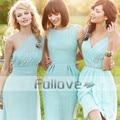 New Aqua Pleat Chiffon Short Bridesmaid Dresses 2017 Spaghetti Straps Knee Length Wedding Party Dress Vestido De Baile Kaftan