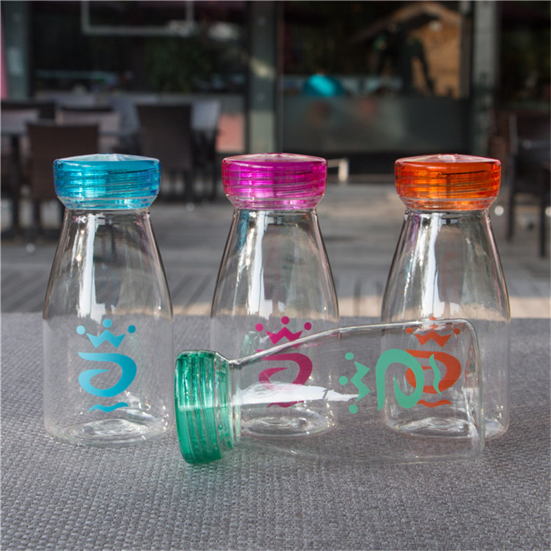 Water Bottle 400 0ml Children Water Bottle Drinking For Water Bottles Portable Cartoon Sport Plastic Words Bottle