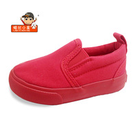 2017 New Spring LABIXIAOXING Girls Boys White Canvas Shoes 8 Colors Children Casual Shoes Soft Sole