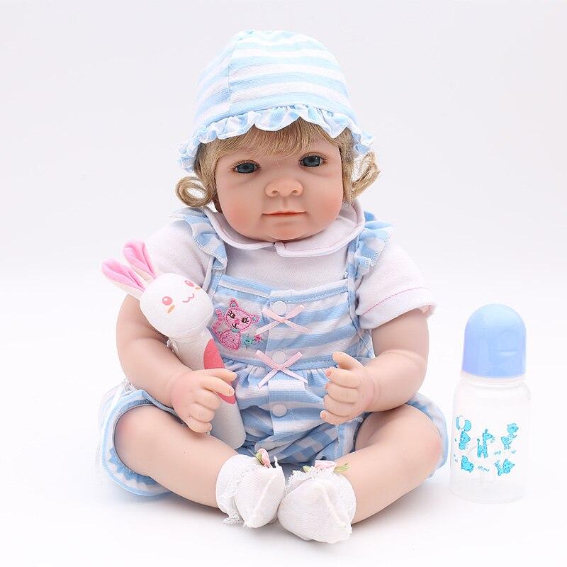 Original bebes reborn realista vinyl silicone reborn baby boy dolls 22 55cm newborn bebe alive doll