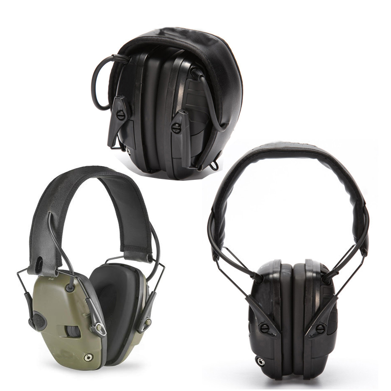 New Outdoor Sports Anti noise Impact Sound Amplification Electronic Shooting Earmuff Tactical Hunting Hearing Protective Headset|  - title=
