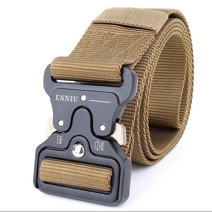FGHGF SWAT Military Equipment Knock Off Army Belt Men's Heavy Duty US Soldier Combat Tactical Belts Sturdy 100% Nylon Waistband