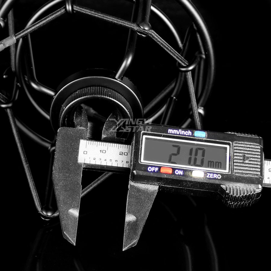 Metal Shock Mount Spider Microphone 6
