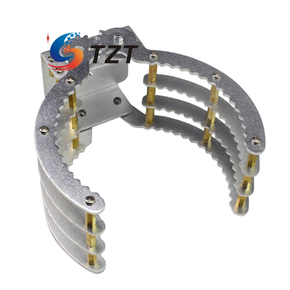 Robot Claw Clamp Holder Gripper Aluminum Alloy Arm with Servo and ...