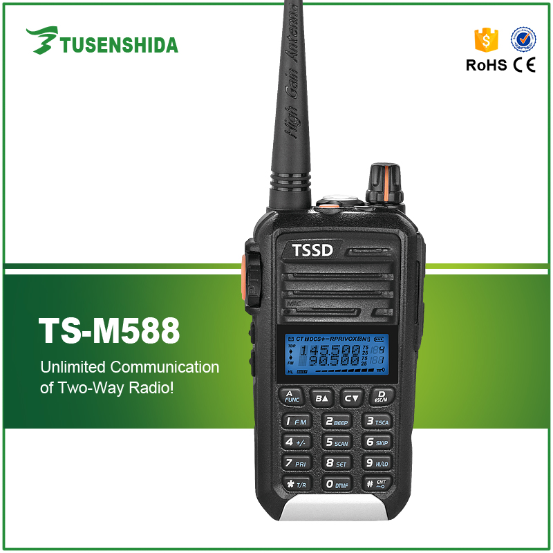Promotion Cheap 5W Voice Encryption Scrambler UHF Handheld Radio TS M588