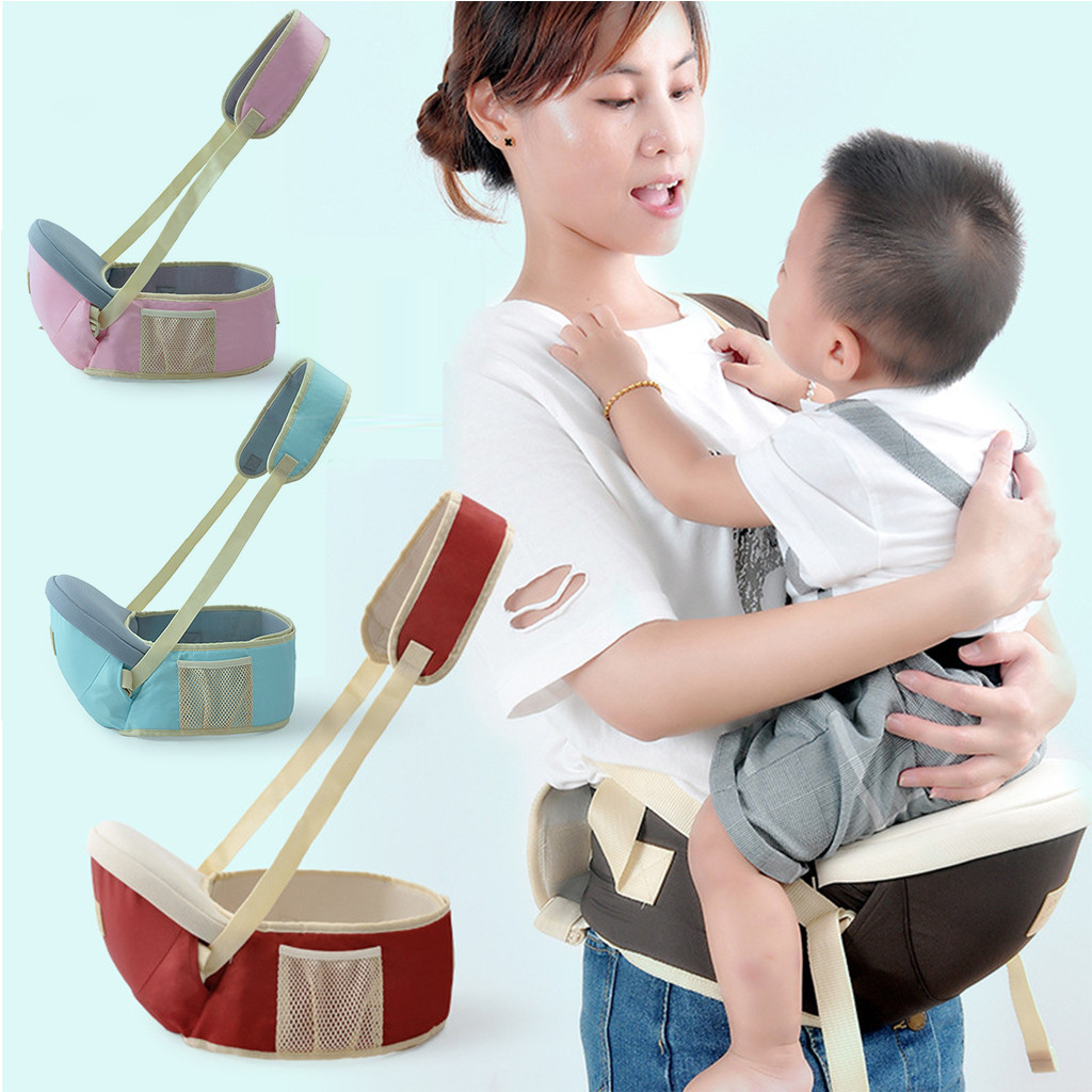 Baby Carrier Canguru Hipseat Walkers Baby Sling Backpack Belt Waist Hold Infant Hip Seat Manduca Porte Bebe Hanche#G40US