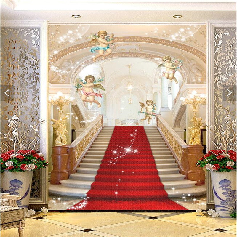 Buy 3d murals living room entrance mural for Art mural wallpaper