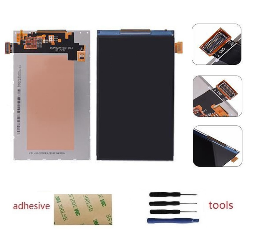 A++ LCD Display Screen For Samsung Galaxy Core Prime SM-G360F SM-G361F G360H G361H +Adhesive+Kits