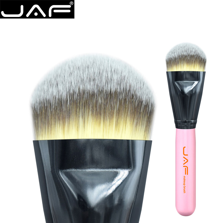 JAF 18STF Extra Large Kabuki Makeup Brush for Liquide Foundation and Face Cream Superfin ...
