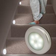 SuperNight Mini Closet Cabinet LED Night  Light PIR Motion Sensor Human Body Dual Induction Light Control Aisle Stairs Wall Lamp