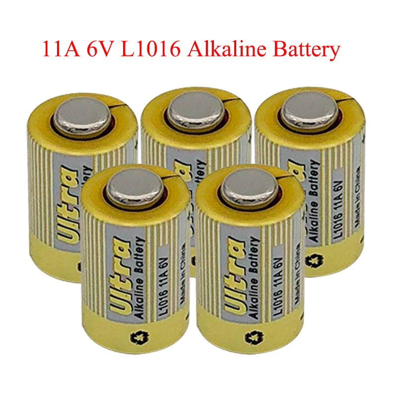 50pcs lot 11A 6V Primary Dry Batteries L1016 Alkaline Car Key Remote Battery Drop Ship in Button Cell Batteries from Consumer Electronics