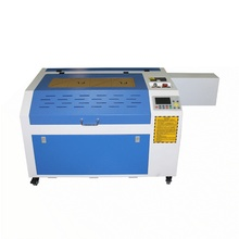 mini laser cutting machine 6040 pro 80W engraving with rotary axis