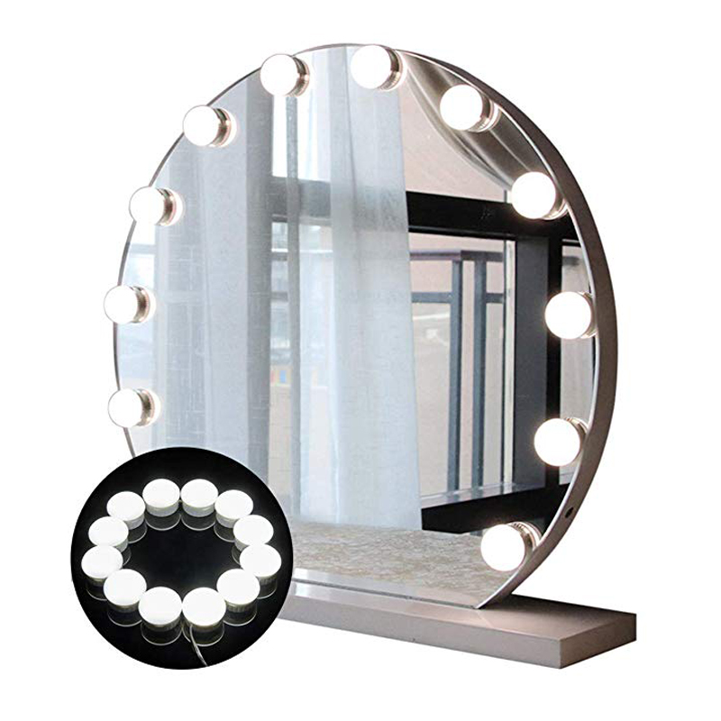 Led Makeup Mirror Lights Hollywood Style LED Vanity Mirror Lights Kit with Dimmable Light Bulbs Vanity Lights Kit