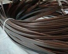 65meter Breite: 8mm PE Kunststoff Flache Rattan Weben Material Stricken Reparatur Stuhl Tisch Synthetische Rattan Nachahmung cane möbel