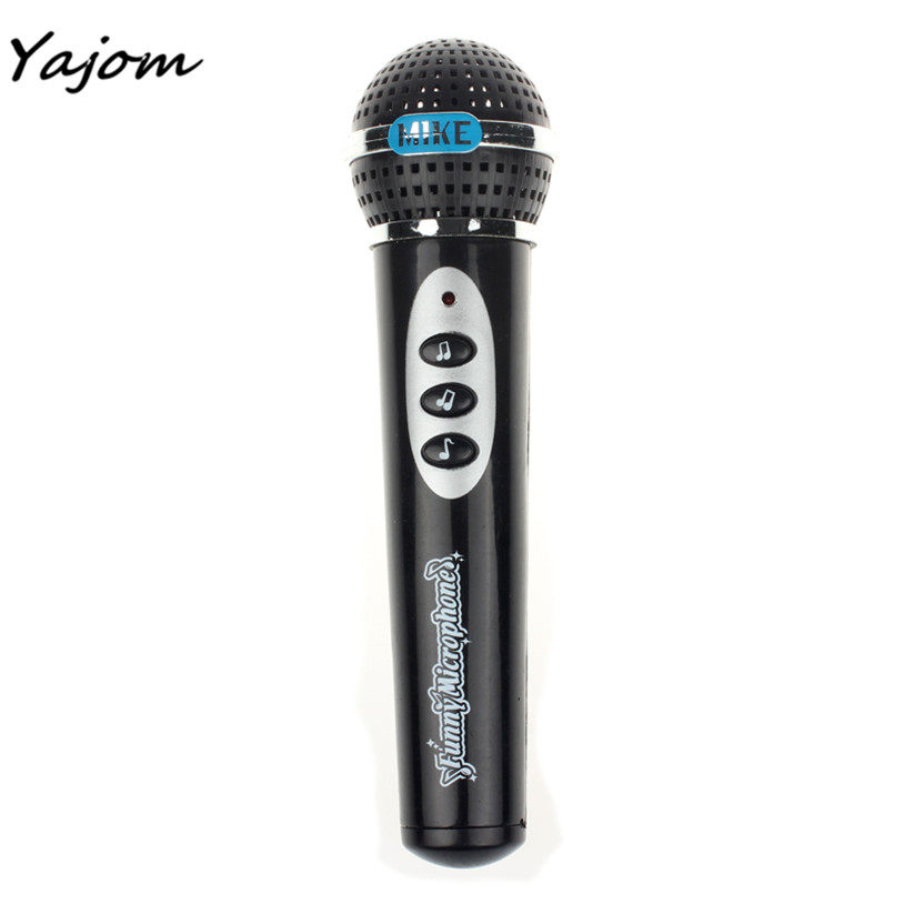 Free for shipping Girls Boys Microphone Mic Karaoke Singing Kid Funny Gift Music Toy Brand new high quality May 12