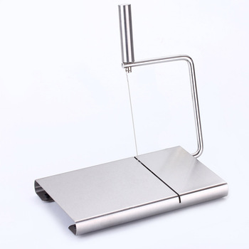 Cheese Slicer Butter Cutting Board Wire Making Dessert Blade Durable Bakeware Kitchen Cooking Serving Baking Tools With 5 Wire