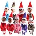 2017 Горячие 10 Цветов Эльф На Полке Дизайнер Плюшевые Куклы персонал игрушки Рождественских Кукол, Детские Игрушки Рождественский Подарок