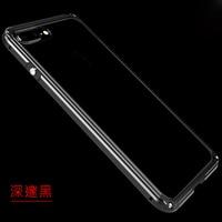 Тонкий Рамки телефон Чехол для apple iphone 8 Алюминий металлическая крышка протектор сторона для iphone 8 7 6S 6 plus роскошные Корпус противоударный