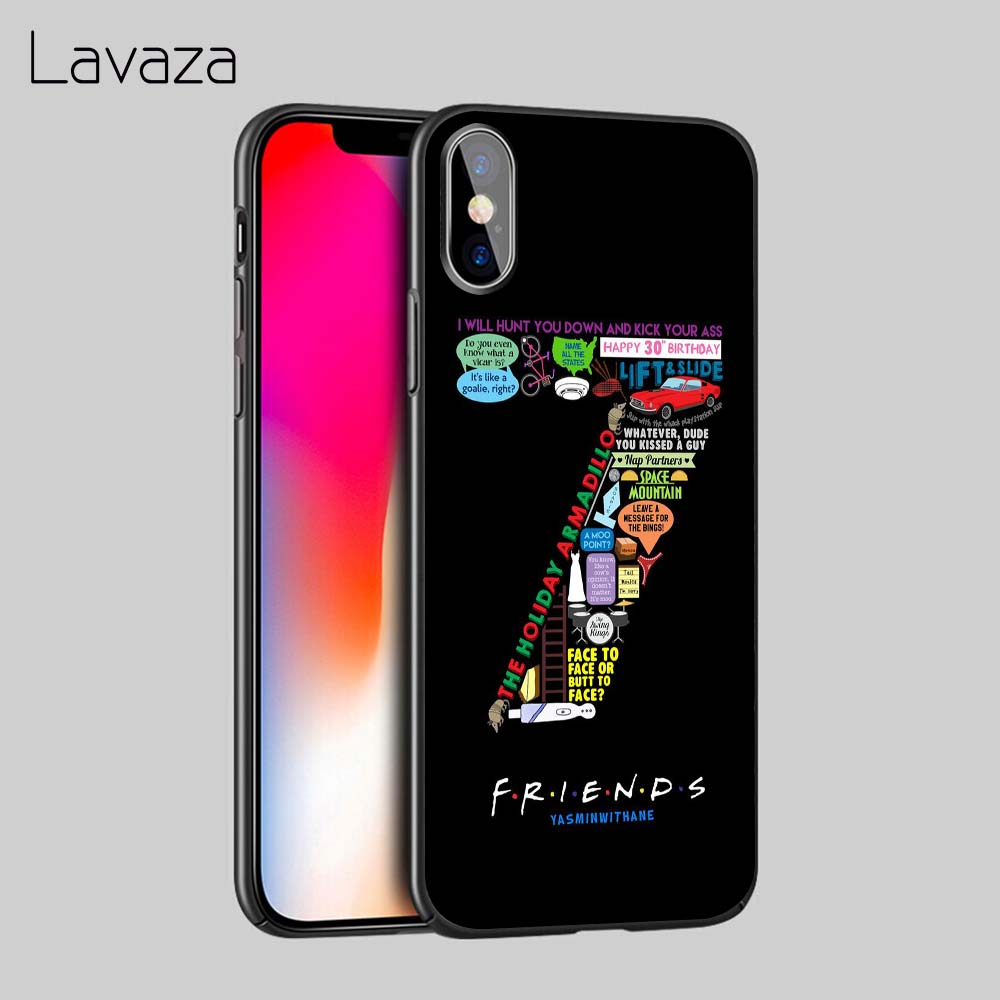 Lavaza Central Perk Coffee friends tv show Soft TPU Case Cover for Apple iPhone 6 6S 7 8 Plus 5 5S SE X XS MAX XR Silicone Cases in Fitted Cases from Cellphones Telecommunications