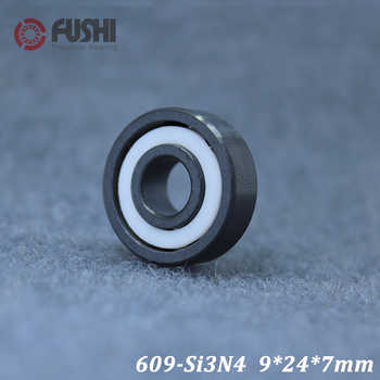 609 Full Ceramic Bearing ( 1 PC ) 9*24*7 mm Si3N4 Material 609CE All Silicon Nitride Ceramic Ball Bearings - DISCOUNT ITEM  15% OFF Home Improvement