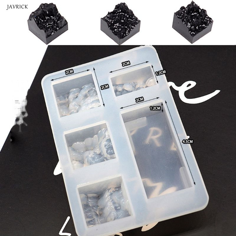 Resin Molds Snow Mountain Mold Silicone Resin Mold DIY Micro Landscape USB Drive DIY Jewelry Tools