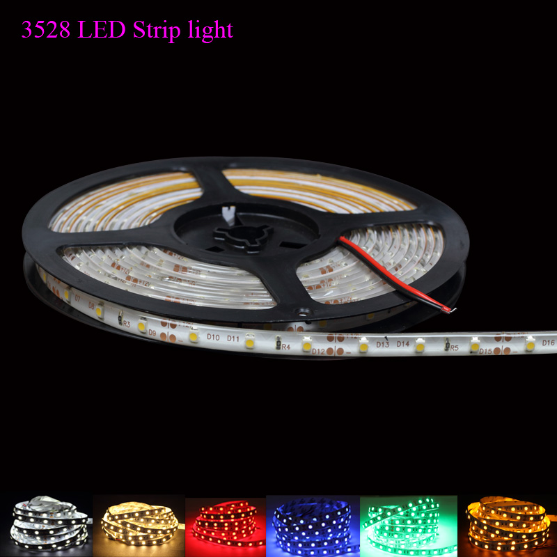 New RGB 3528 SMD Led Strip Light Non/IP65 Waterproof