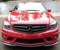 Автомобильные аксессуары из углеродного волокна GH стиль Передняя Губы подходит для 2008-2011 MB W204 C-Class C300 C350 AMG-спортивный бампер передний сплит...