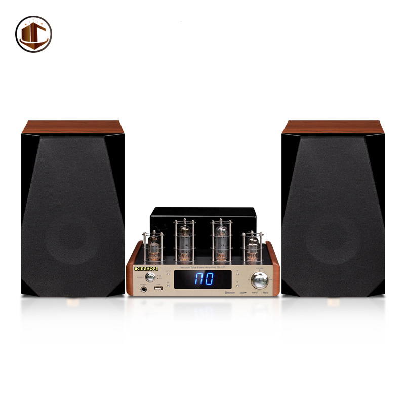 A1 High End Home Audio Speakers Powered Bookshelf Speaker Hifi Bluetooth Tube Amplifier Passive Music 2.0 Home Theater System micro music system philips btm2460 musical centers and radio cassettes speakers home audio