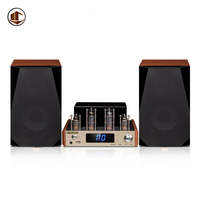 A1 High End Home Audio Speakers Powered Bookshelf Speaker Hifi Bluetooth Tube Amplifier Passive Music 2.0 Home Theater System