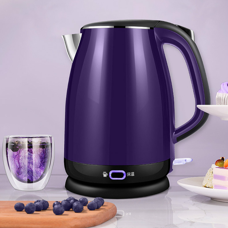 Electric kettle household automatic power cut insulation integrated intelligent temperature 304 stainless steelElectric kettle household automatic power cut insulation integrated intelligent temperature 304 stainless steel