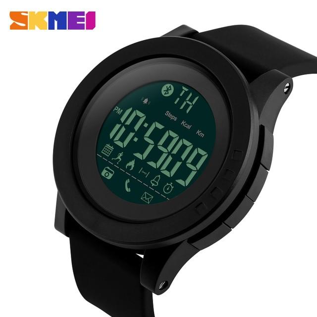 ee754b705e14 SKMEI Hombres Reloj de la Caloría del Podómetro de Múltiples Funciones  Inteligente SmartWatch Remote Camera 50