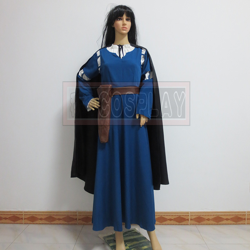 Brave Cosplay costume Merida dress cosplay costume Any Size