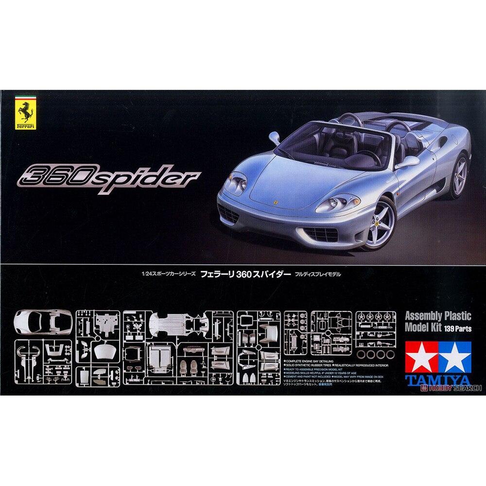 1 24 TAMIYA 24307 New Ferrari 360 Spider sports car model hobby
