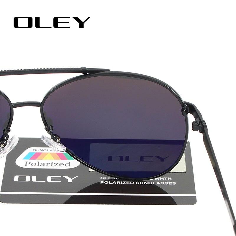 OLEY Hochwertige Polarisierte Sonnenbrille Männer Markendesigner - Bekleidungszubehör - Foto 5
