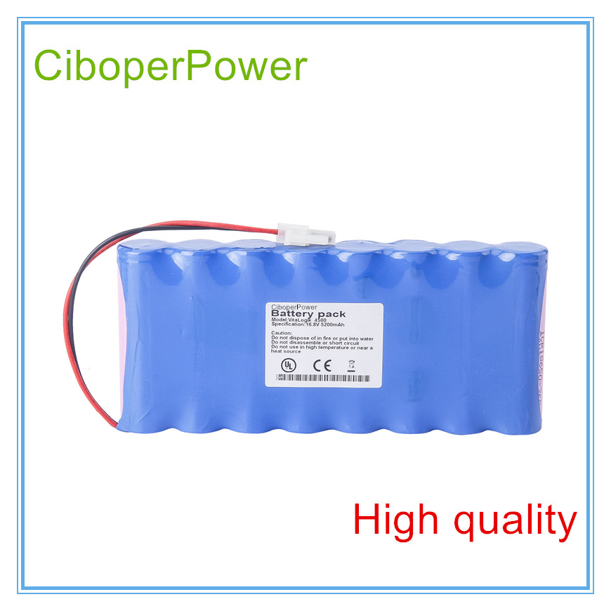 Replacement Medical Battery for 5200mAH New Medical battery for Vitalogik 4500 TSGLIIO100298Replacement Medical Battery for 5200mAH New Medical battery for Vitalogik 4500 TSGLIIO100298