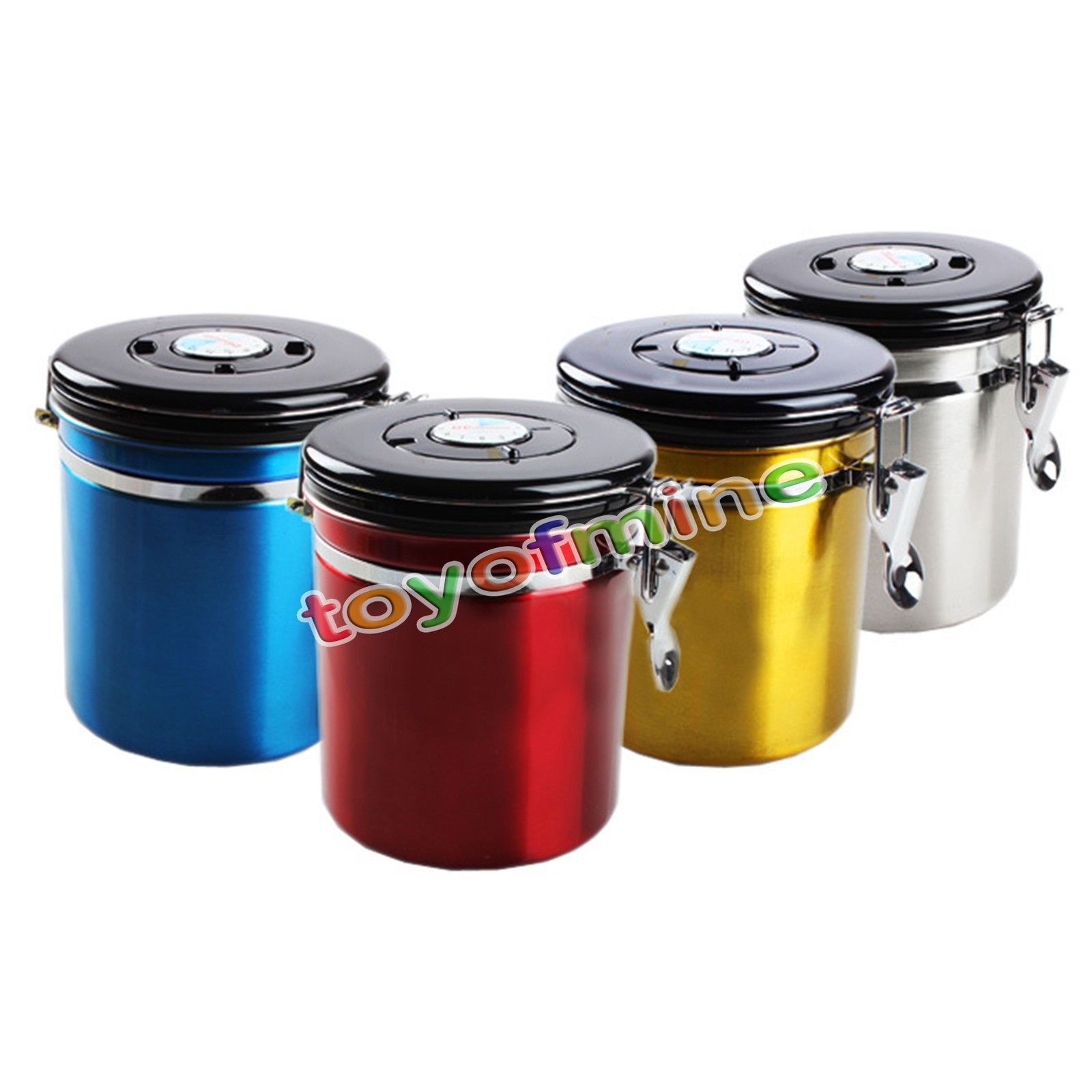 popular tea coffee sugar containers buy cheap tea coffee sugar kitchen container boxes 4 color metal storage food bottles sugar tea coffee beans canisters snack cans
