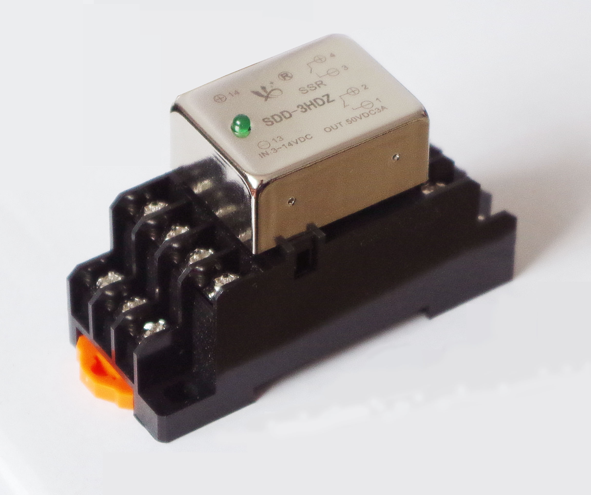 Normally Open Normally Closed 3A Mini Solid State Relay SDD-3HDZ With Indicator Sign Light RRS Switch