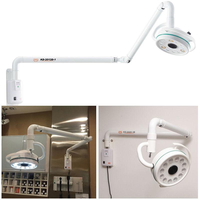 Новый 36 Вт 12 отверстий 90 ~ 240 В настенный светодиодный хирургический светильник медицинская бестеневая лампа 700 мм