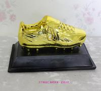 New 2016 Soccer Top Scorer Award For Best Player Award Cup Golden Boot Golden Shoes