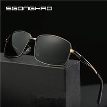 SGONGHAO New Aluminum Brand Polarized Sunglasses Men Fashion Sun Glasses Travel Driving Male Eyewear Oculos Gafas De Sol