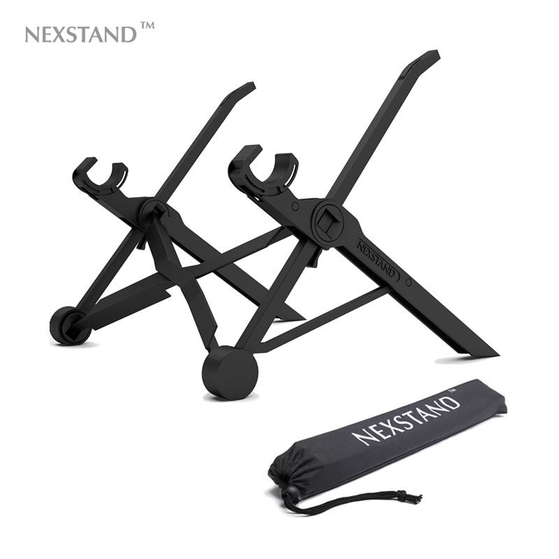 NEXSTAND Folding Portable Lapdesk Pro Game And Office Part Laptop Stand Works On More Than 11.6 Inch Tablet Three In One BOX.