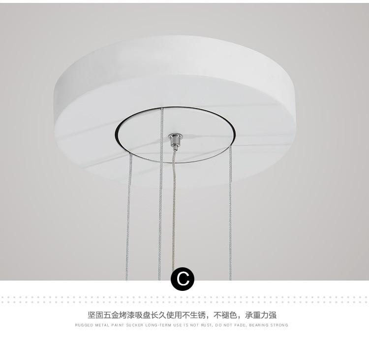 HTB1AQXTeoGF3KVjSZFoq6zmpFXak - Modern Acrylic LED Pendant Light Shadow Dining Room Kitchen Light Designer Hanging Lamps Indoor Lighting