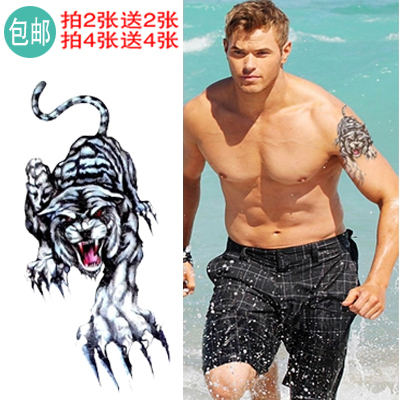 Tattoo enlarge realistic simulation male waterproof fake tattoo arm ...