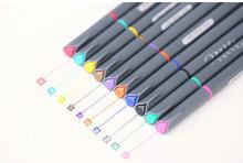Fineliner Color Pen Set 0 38mm Colored Fine Liner Sketch Drawing Pen STA Liner pen cheap YBGYZP 12 Colors Single Art Marker Loose