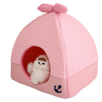 Folding Dog House Pet Bed Blanket For Small Dogs Pet Supplies Soft Warm Dog Home Tent