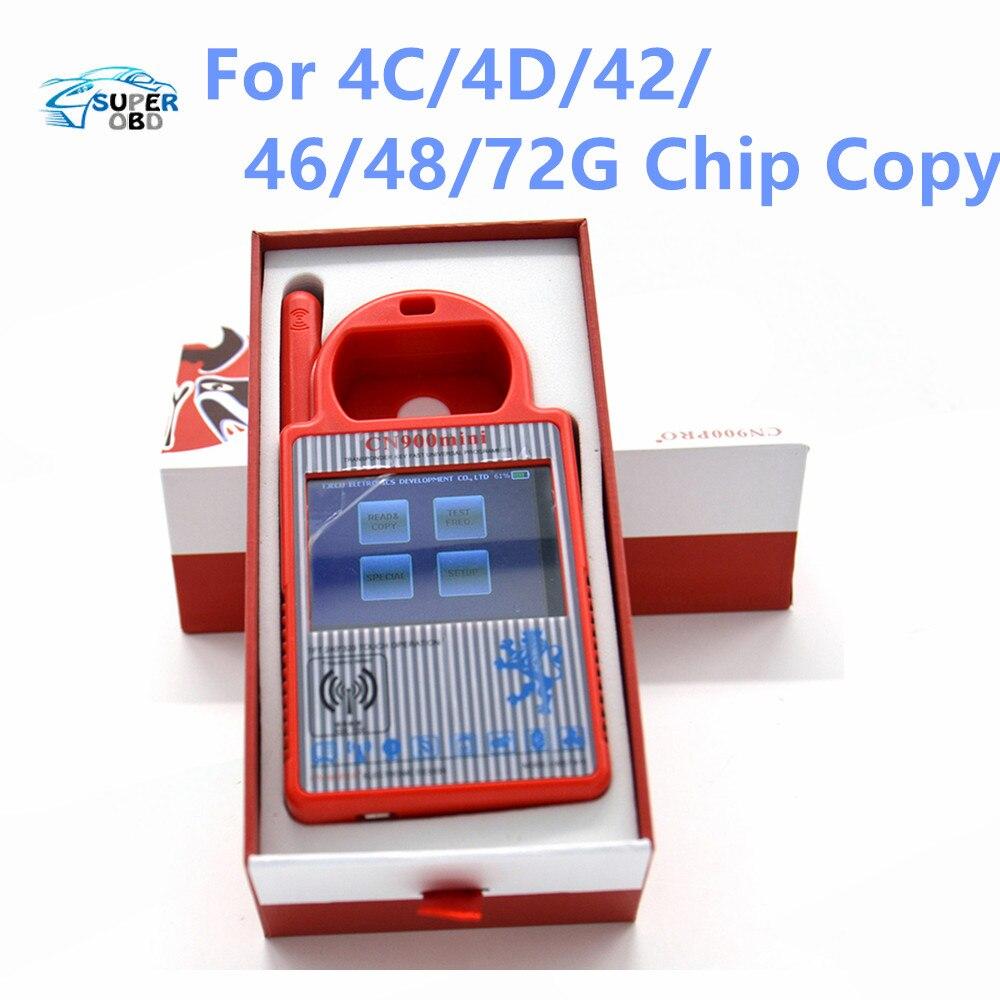 Цена за Новый MINI CN900 Транспондера Ключевых Программиста Же Как ND900 Автомобиль ключевых Копировальный Аппарат для 4C/4D/42/46/48/72 Г Копия Чип ND 900 Обновление онлайн