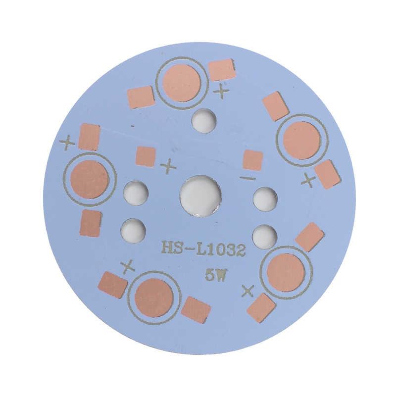 Frete grátis 1 w/3 w/5w7w/9 w/12 w/15 w/18 w/21w24w led placa de alumínio/placa de circuito led de alta potência/placa de calor pcb para iluminação led